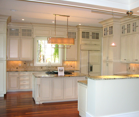 Stacked Kitchen Cabinets With  Foot Ceilings