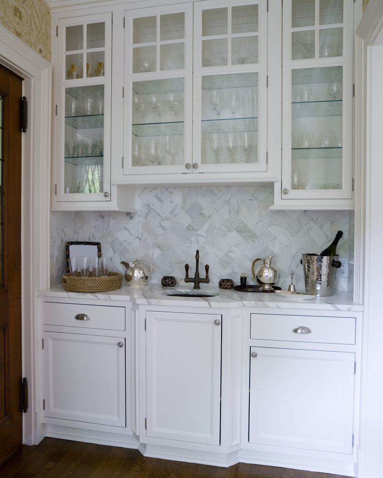 Coffee station and bar on pinterest butler pantry wet for Butler kitchen designs