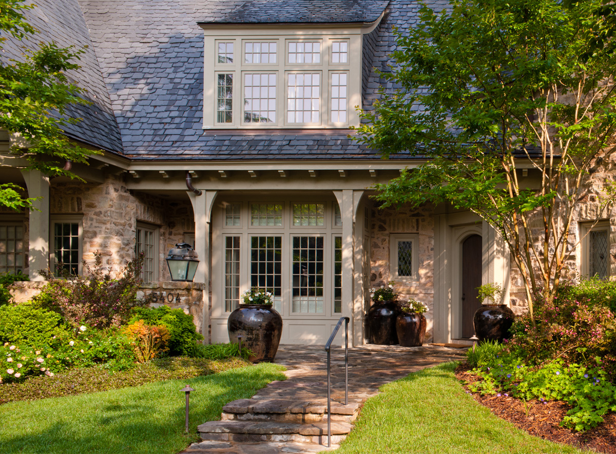 House tour american tudor for Home architecture firms