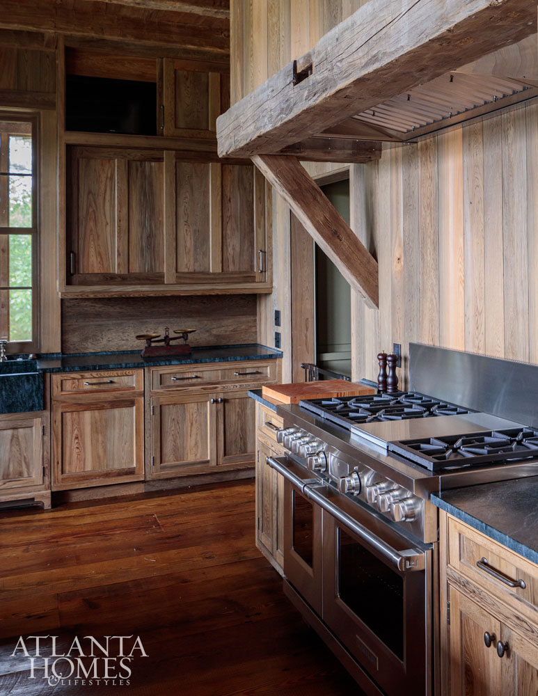 hunting lodge kitchen