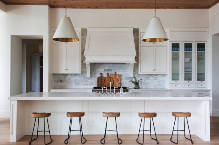 Goodman Pendant Lights in kitchen