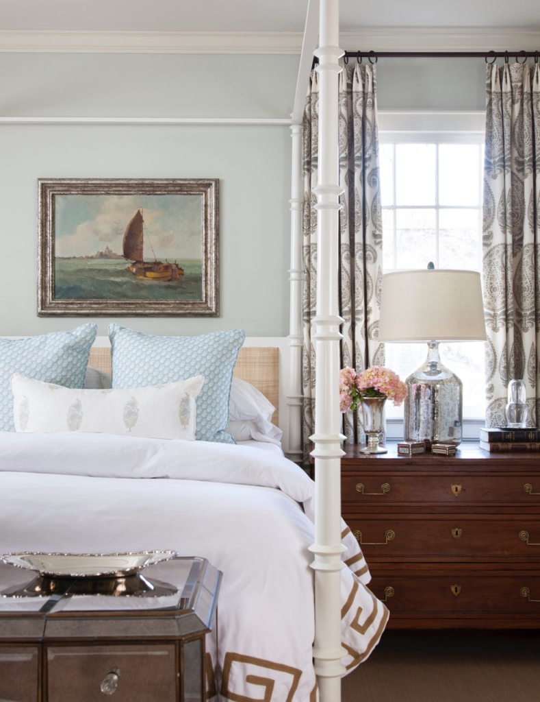 bedroom with side tables