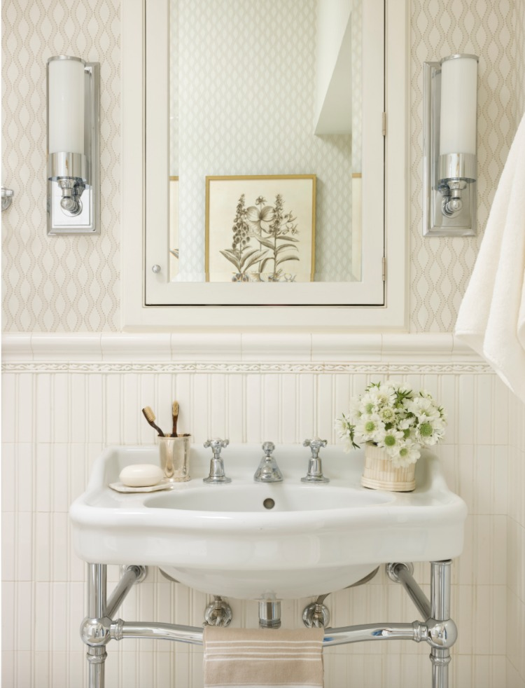 Georgetown Rowhouse bathroom