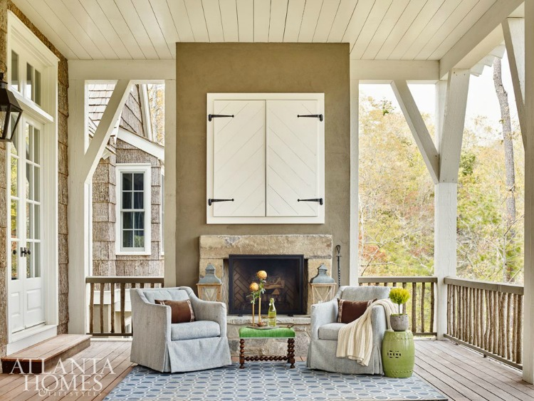 Blue Ridge Mountain porch