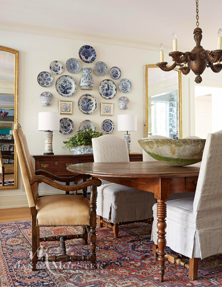 Jane Molster Designs dining room