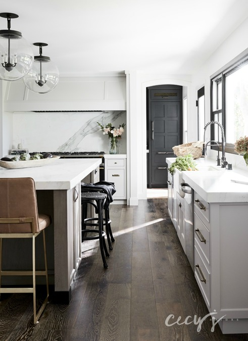 California mansard kitchen