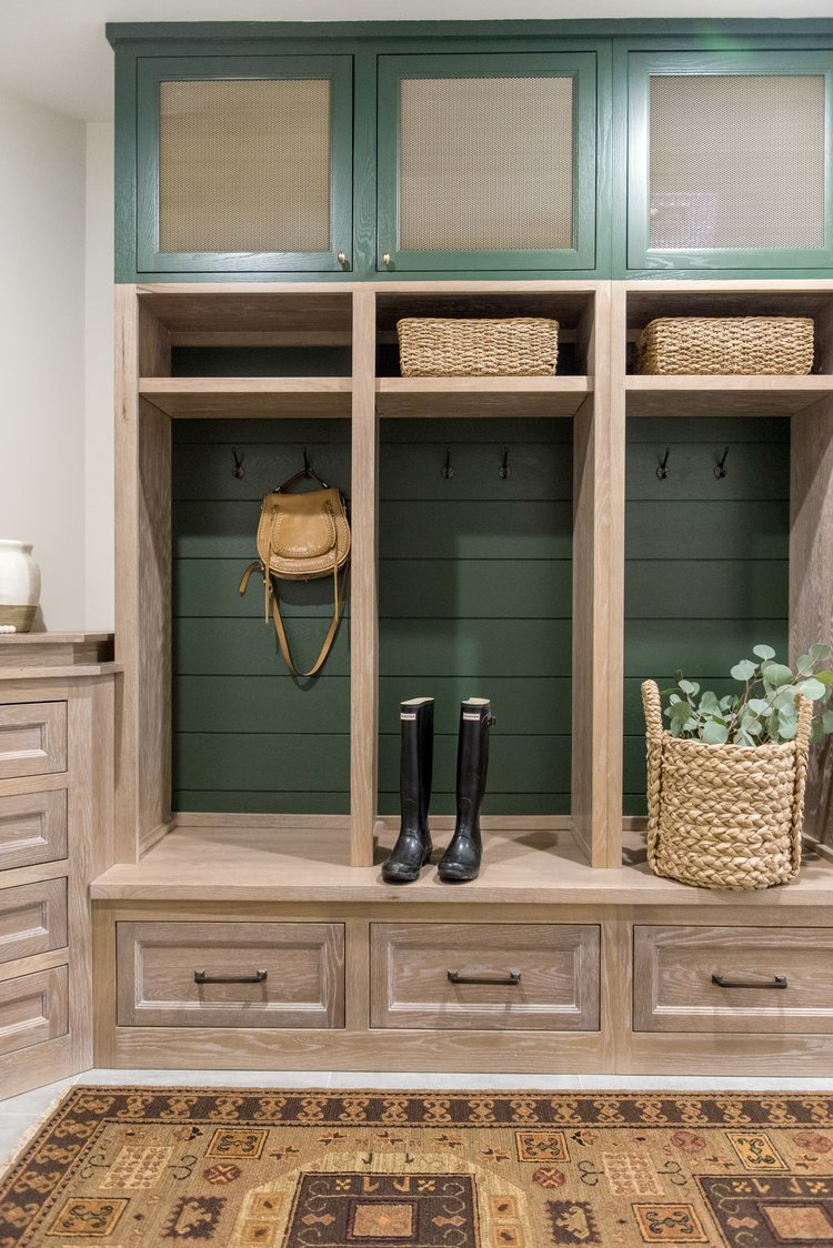 Whittney Parkinson mudroom