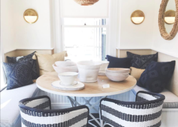 Banquette Seating, Serena & Lily Market Ready for Summer & More!