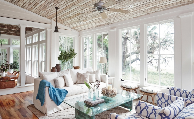 j banks design group beach house living room