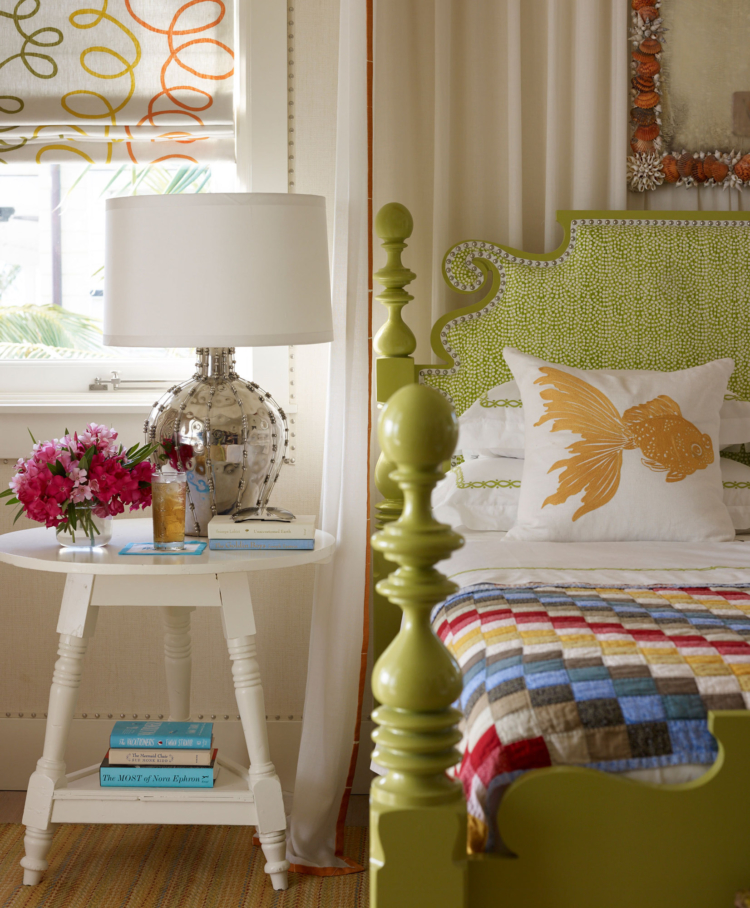 Bahamas house by Marshall Watson bedroom