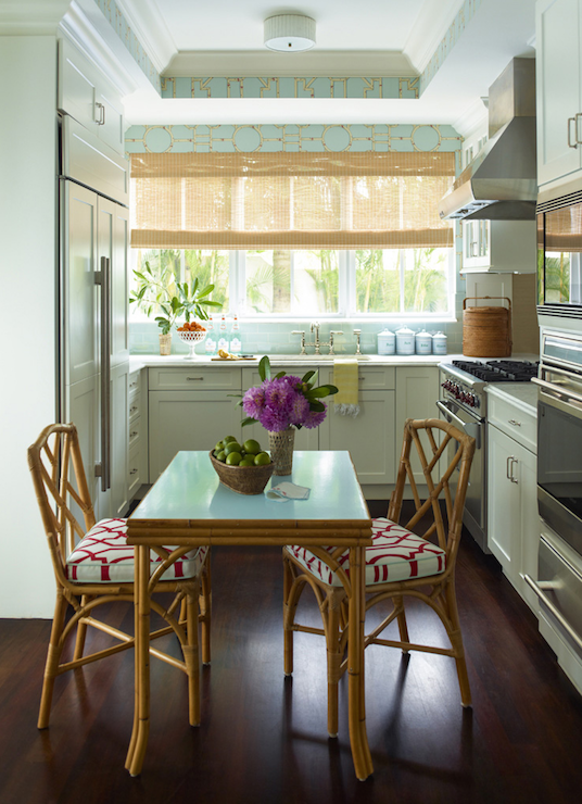 table for two in kitchen