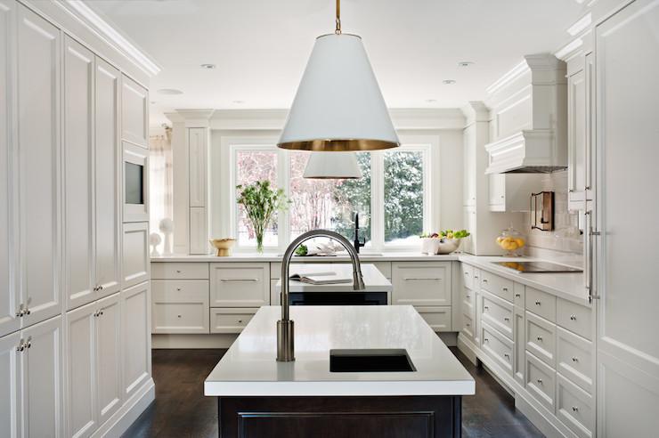 Goodman Hanging Lamps over kitchen island