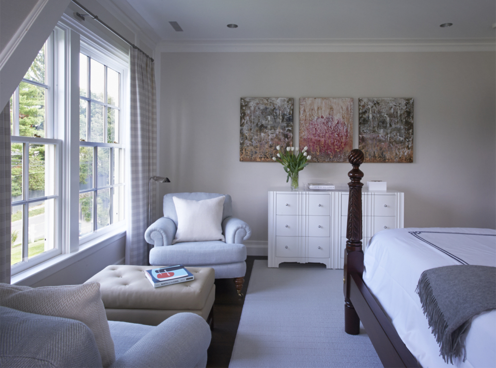 Darien, Connecticut House Tour - bedroom