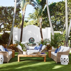 Aerin Lauder Palm Beach House & Collaboration