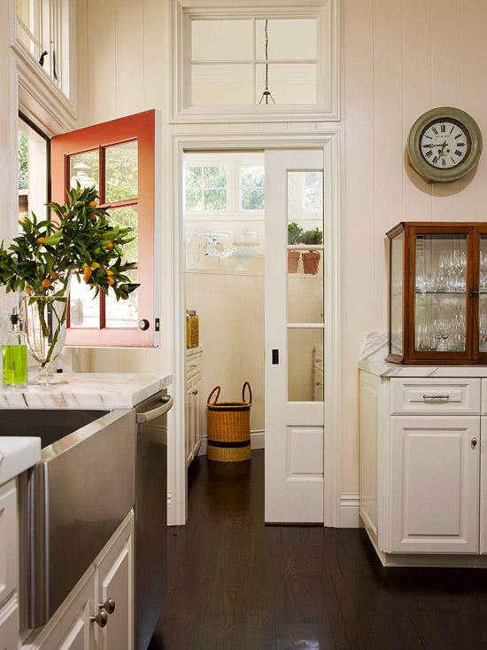 kitchen dutch door -