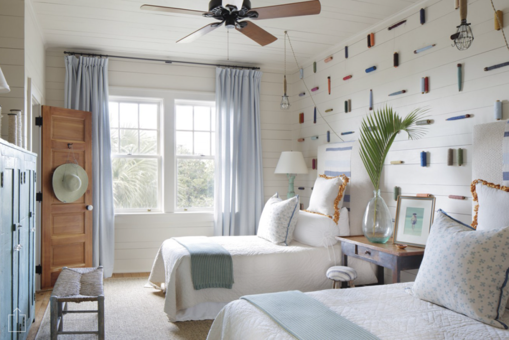 Tammy Connor Interior Design beach cottage bedroom