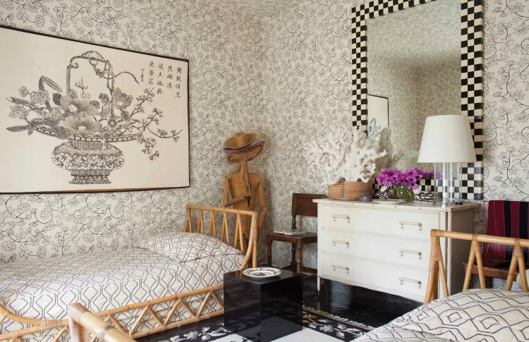 FABULOUS! The Dazzling Interiors of Tom Britt bedroom