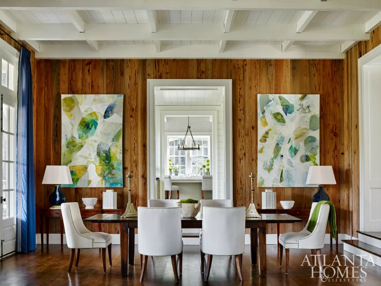 Blue Ridge Mountain dining room