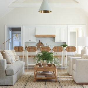 Create a Living Room with Coastal Style