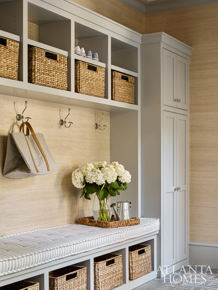 Southeastern Designer Showhouse mudroom
