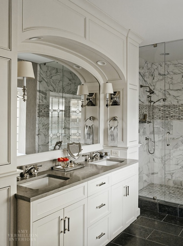 Amy Vermillion Interiors bathroom