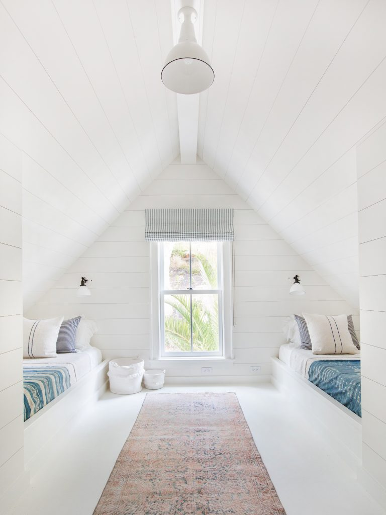 Amer Interiors attic bedroom
