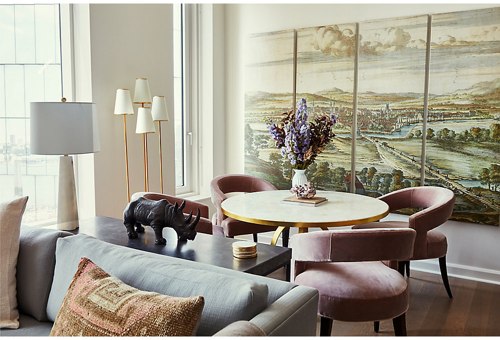 One Kings Lane Manhattan Apartment makeover