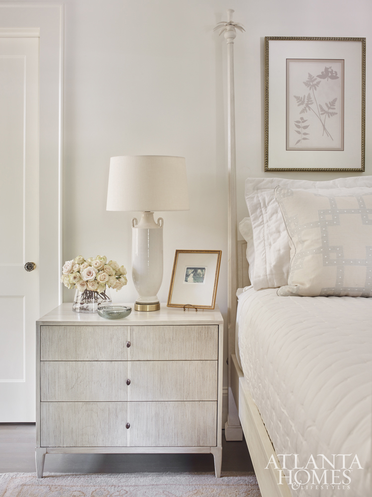 bedroom designed by Phoebe Howard in neutrals