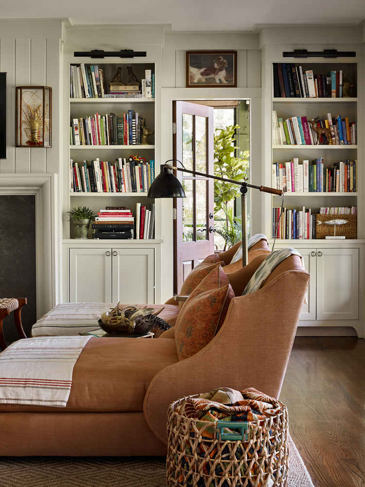 Point Washington living room by Urban Grace