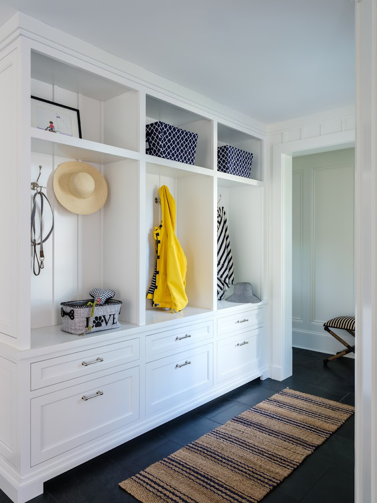Marika Meyer Interiors mudroom