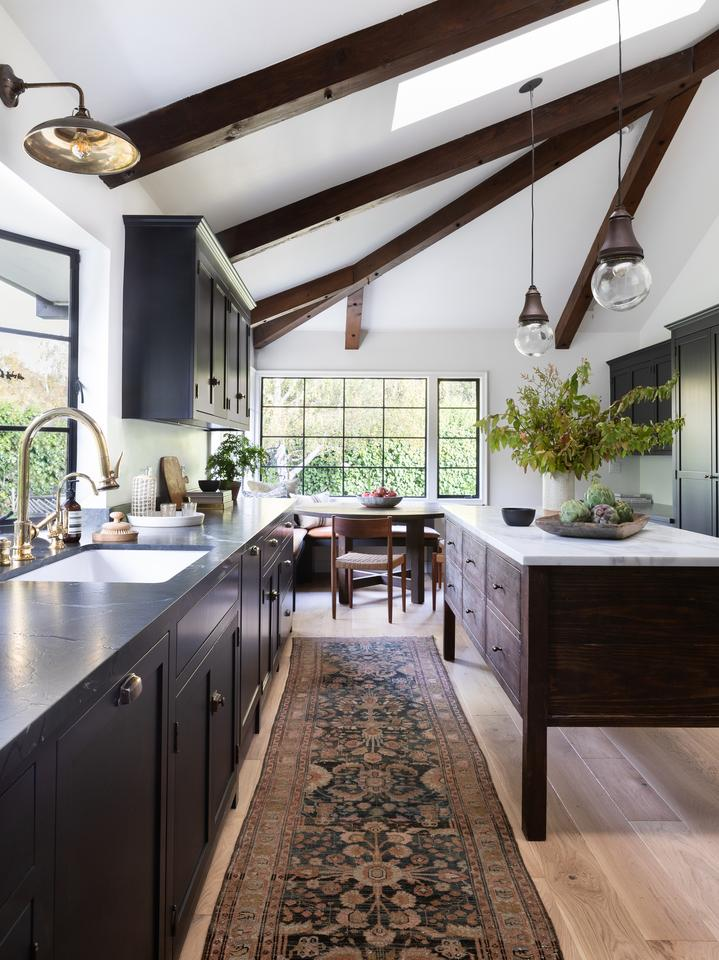 Top 10 Favorite Posts of 2019 kitchen with wood beams