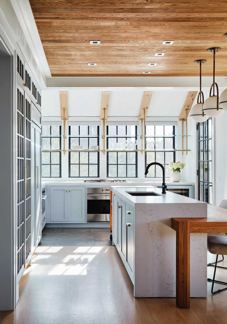 Read McKendree Photography - Workshop/APD kitchen with wood ceiling