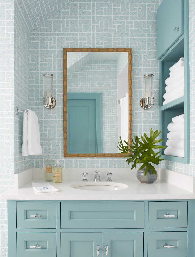 dream home Andrew J Howard bathroom