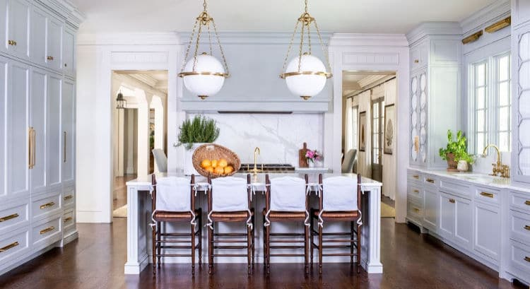 Ashley Gilbreath and Jeff Herr photography kitchen with pendant lights