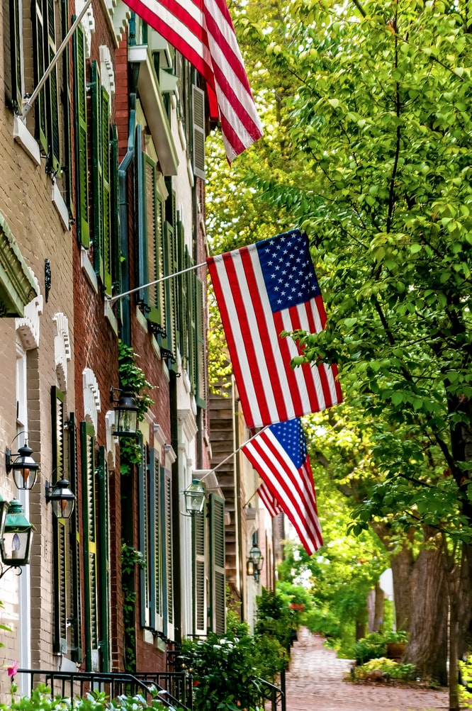 4th of July Flags and big sales