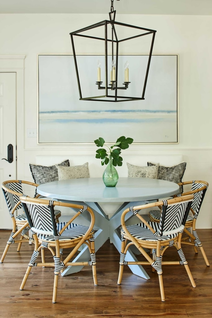 Ashley Gilbreath Interior Design beach house dining nook
