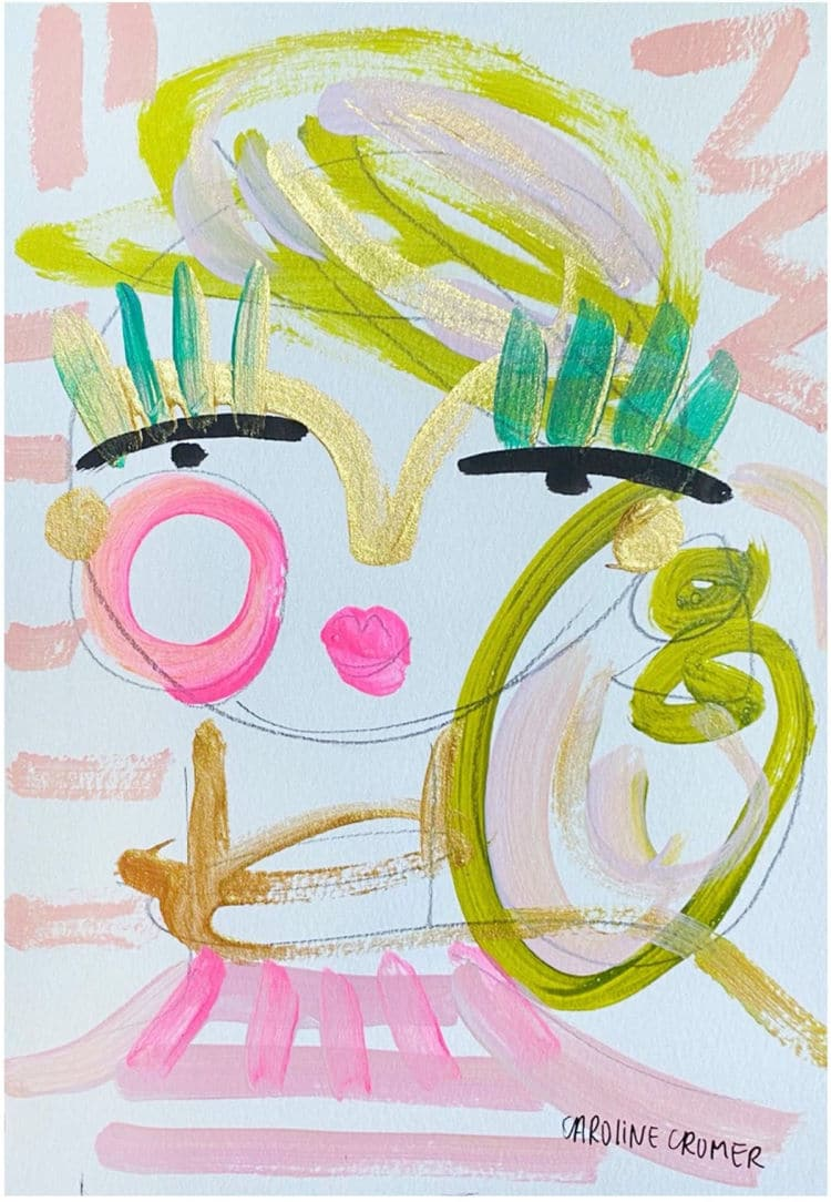Caroline Cromer's Abstract Faces