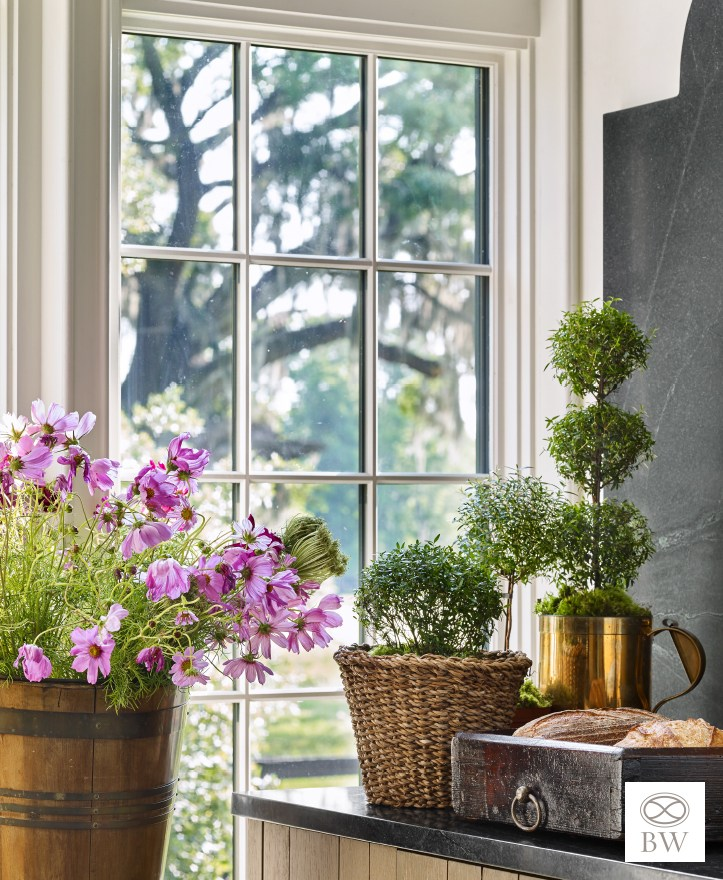 Beth Webb Interiors Brays Island House tour potting room