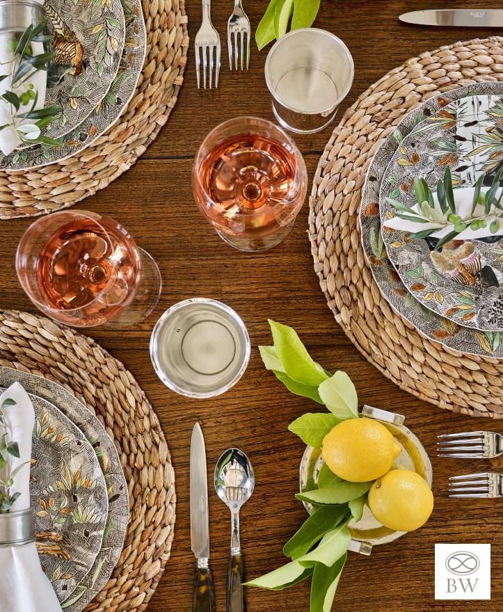 Beth Webb Interiors Brays Island House tour dining table