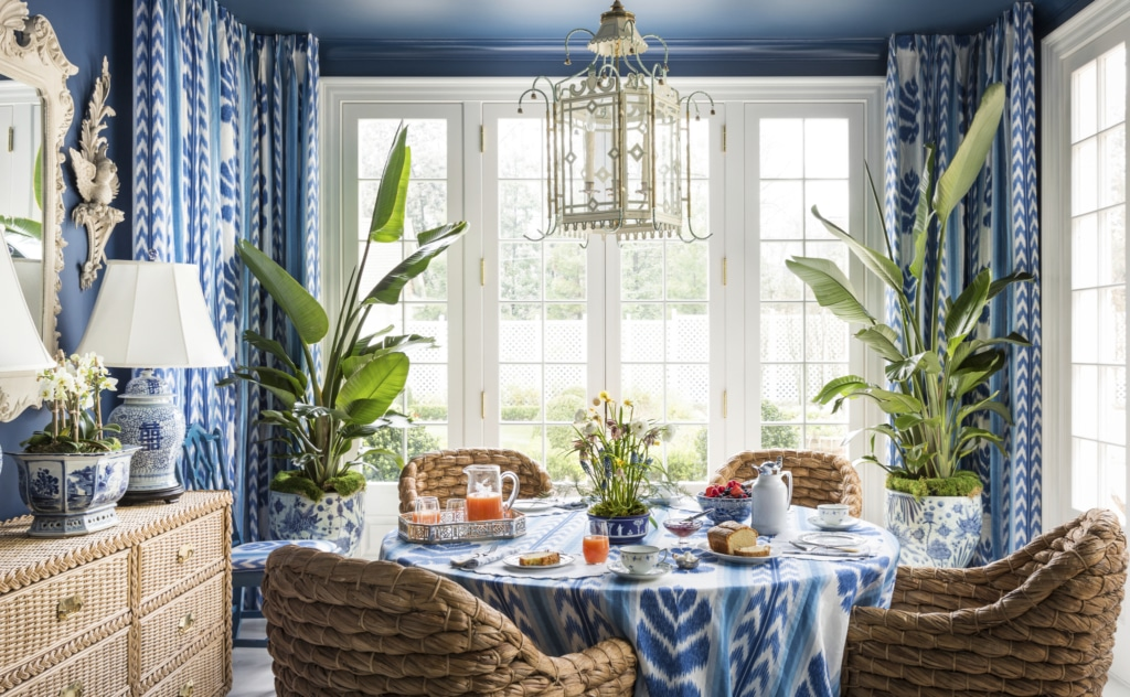 A Home for All Seasons - Danielle Rollins dining room
