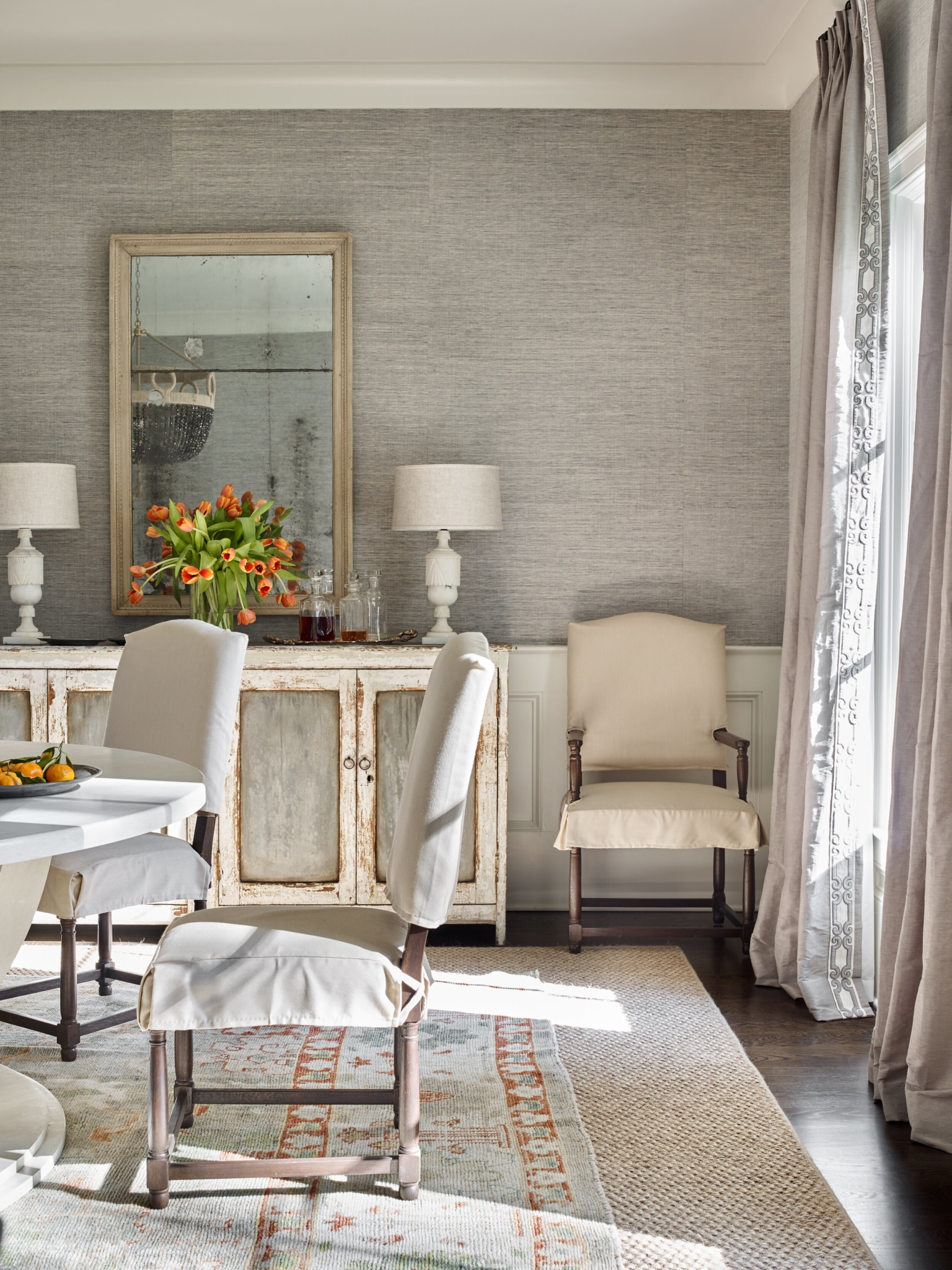 The Design Atelier dining room