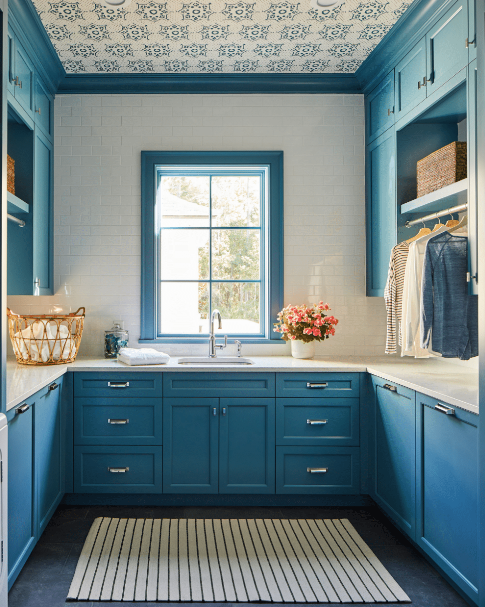 Andrew J. Howard design laundry room and mudrooms