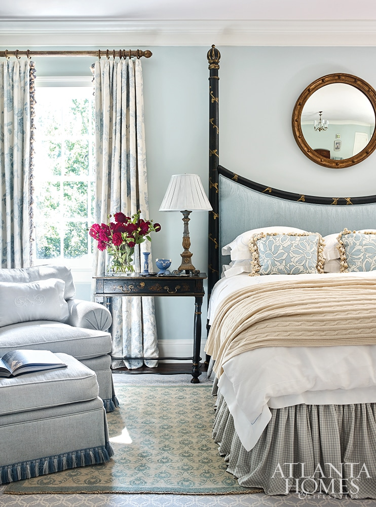 Margaret Kirkland Interiors bedroom.for empty nesters