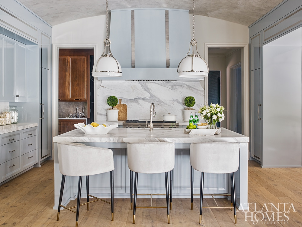kitchen in Cashiers show house