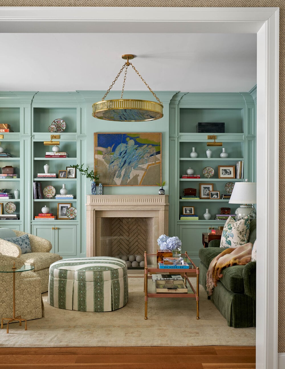 Mary Beth Wagner bookcases
