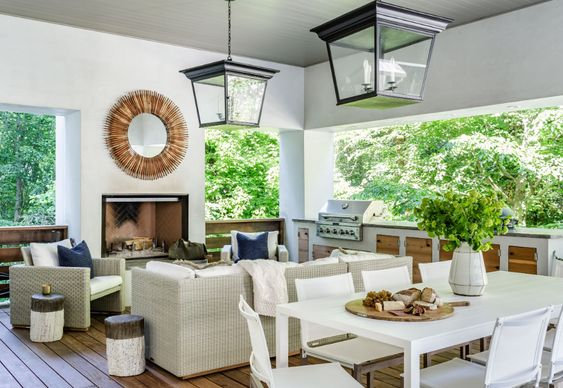 Nancy Duffey Interiors | Jeff Herr Photography outdoor area and covered porch